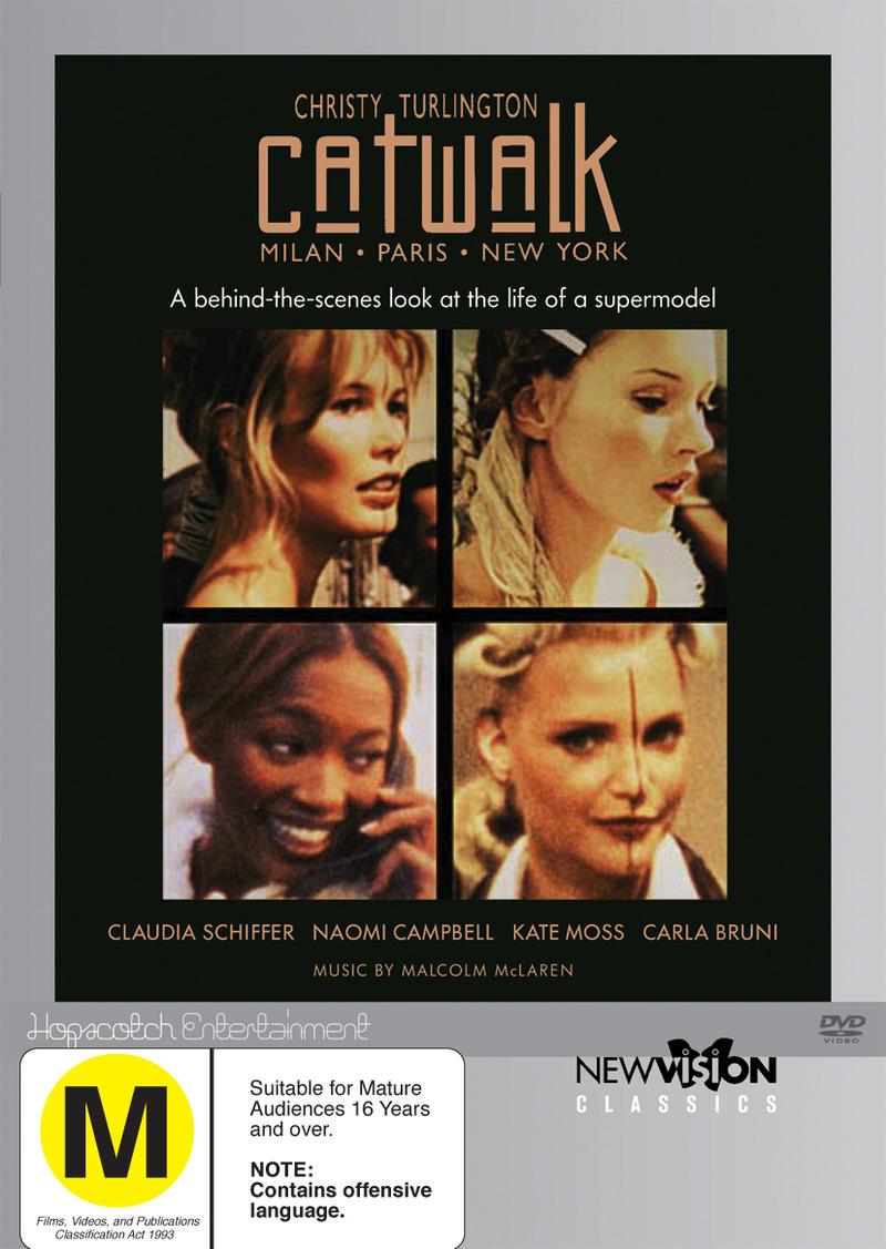 Catwalk on DVD image