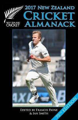 New Zealand Cricket Almanack 2017 by Francis Payne image