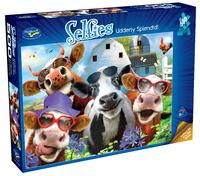 Holdson: 500 Piece Puzzle - Selfies S2 (Udderly Splendid!)