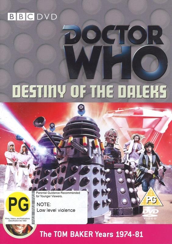 Doctor Who: Destiny of the Daleks on DVD