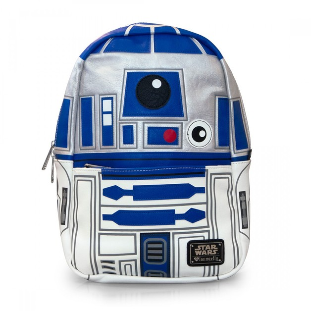 Star Wars R2D2 Faux Leather Mini Backpack
