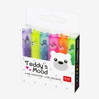 Legami: Teddy's Mood - Mini Highlighters (6 Pack)
