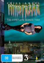 Criss Angel - Mindfreak: The Complete Season 2 (3 Disc Set) on DVD