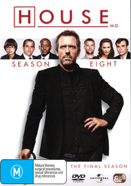 House, M.D. - Season Eight on DVD