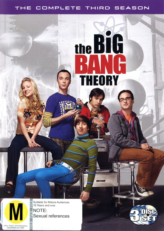 The Big Bang Theory - Complete 3rd Season on DVD