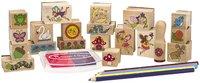 Melissa & Doug: Stamp-a-Scene Fairy Garden image