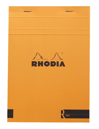 R by Rhodia with Cream Paper Orange A5 - Lined