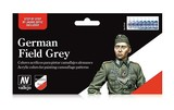 Vallejo German Field Grey Paint Set
