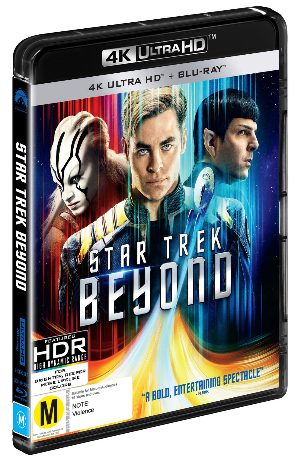 Star Trek Beyond on Blu-ray, UHD Blu-ray image