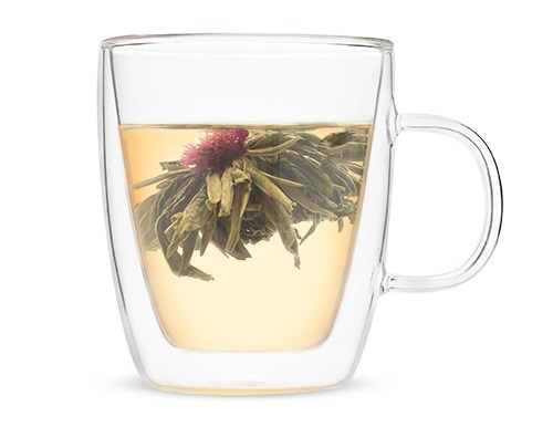 Pinky Up: Avery Double Walled - Glass Tea Mug