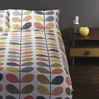 Orla Kiely: Scribble Stem Pillow Cases - (Set of 2)