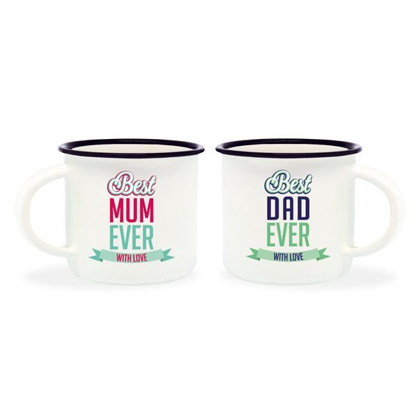 Espresso For Two - Best Mum & Dad (Set of 2)