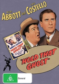 Abbott And Costello Hold That Ghost on DVD