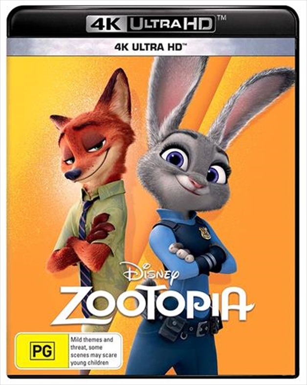 Zootopia on UHD Blu-ray