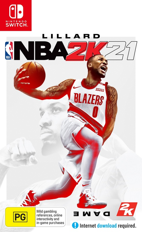 NBA 2K21 (code in box) for Switch