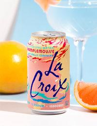 La Croix Sparkling Water - Grapefruit (Pamplemousse) 355ml Cans