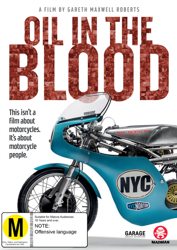 Oil In The Blood on DVD