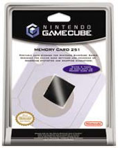 Gamecube Memory Card 251 for GameCube