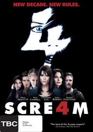Scream 4 on DVD