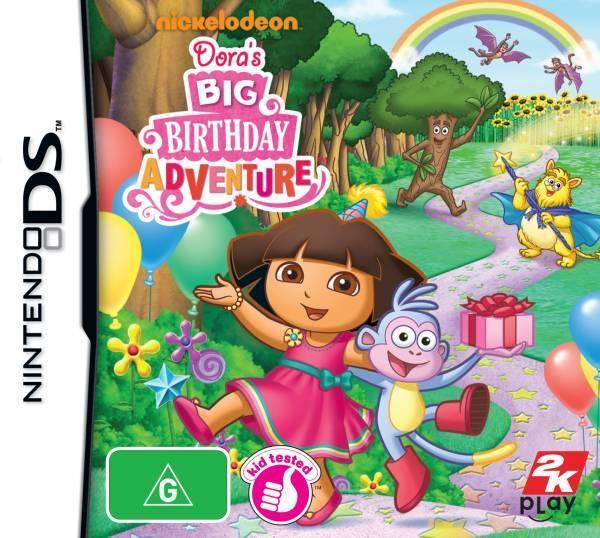 Dora the Explorer: Dora's Big Birthday Adventure for Nintendo DS