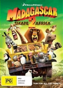 Madagascar: Escape 2 Africa on DVD