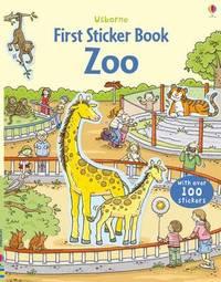 First Sticker Book Zoo by Cecilia Johansson