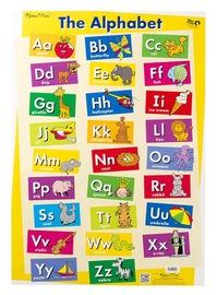 Gillian Miles - Alphabet & First Sight Words - Wall Chart
