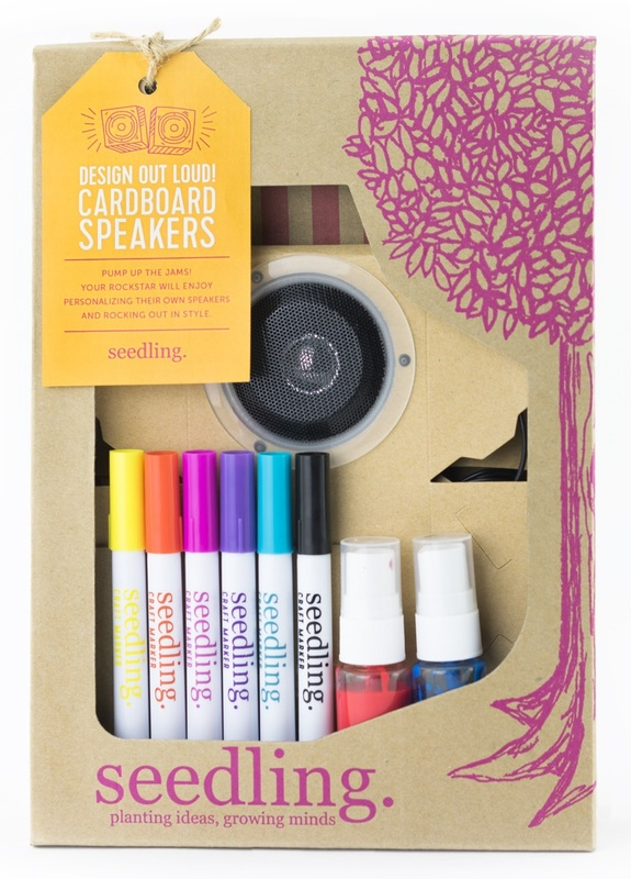 Seedling: Design Out Loud! Cardboard Speakers