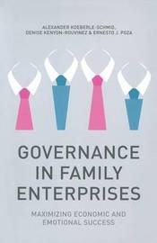 Governance in Family Enterprises by Alexander Koeberle-Schmid