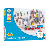 Bigjigs: Medieval Train Set - 46pc