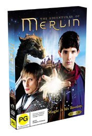 The Adventures of Merlin (4 Disc Set) on DVD