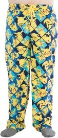 Pokemon: Pikachu All Over Print Sleep Pants (Medium)