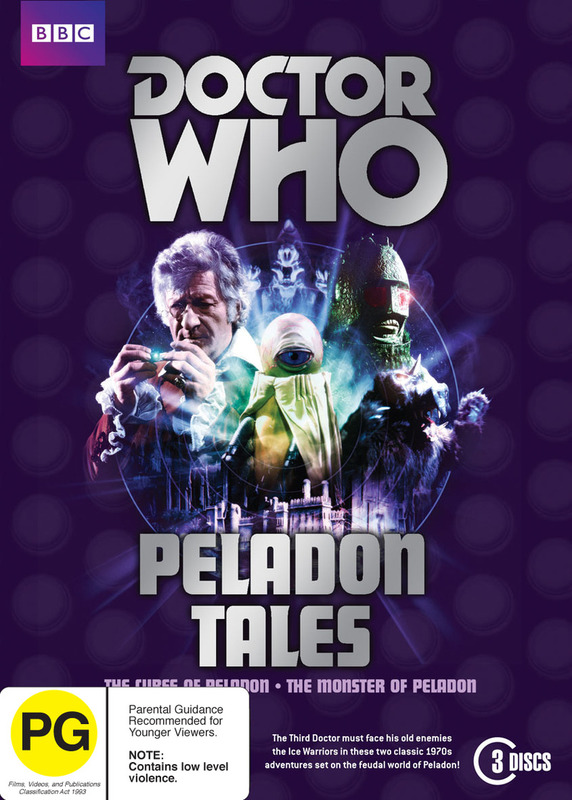 Doctor Who: Peladon Tales on DVD