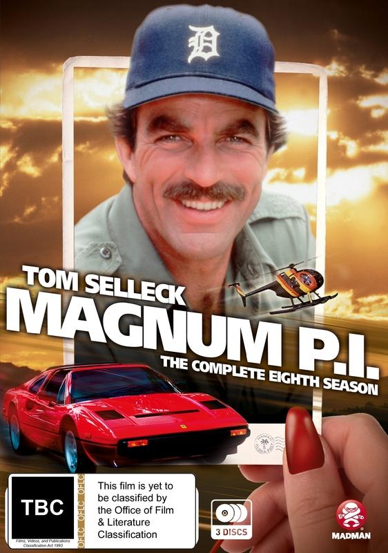Magnum, P.i. Season 8 on DVD