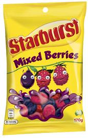 Starburst Mixed Berries (170g)