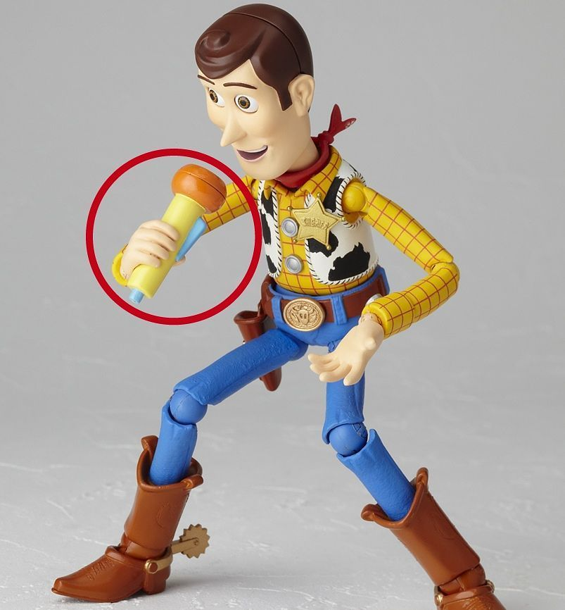 """En Stock Revoltech Toy Story /""""Woody/"""" Action Figure"""