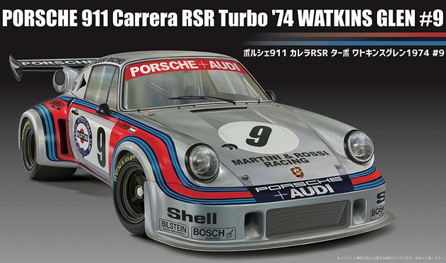 Fujimi: 1/24 Porsche 911 Carrera RSR Turbo '74 #9 - Model Kit
