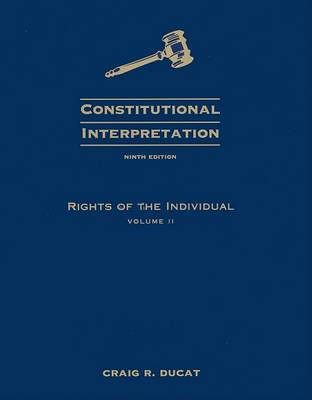 Rights of the Individual by Craig R Ducat image