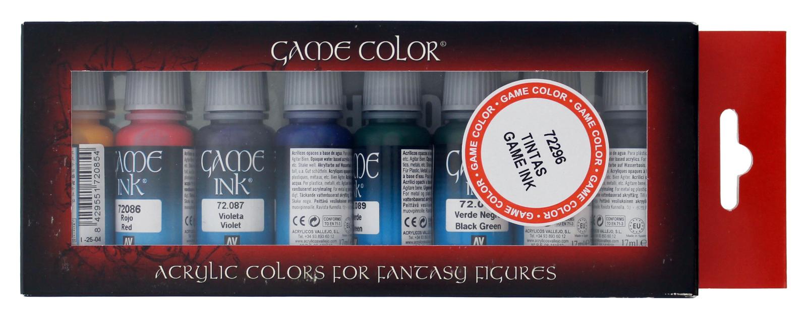 Vallejo Game Colour Ink Set image