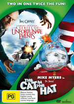 Lemony Snicket's A Series Of Unfortunate Events / Cat In The Hat (2 Disc Set) on DVD