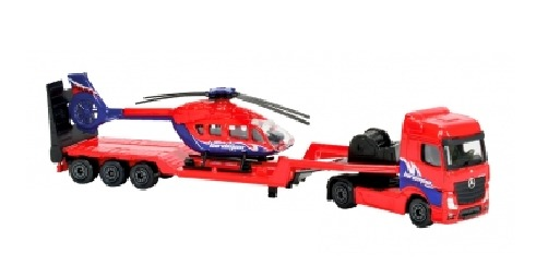 Majorette: Utility Transporter Playset - Helicopter