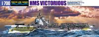 Aoshima 1/700 British Aircraft Carrier HMS Victorious - Scale Model