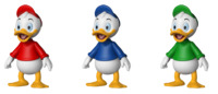 Duck Tales: Triplets - Action Figure 3-Pack