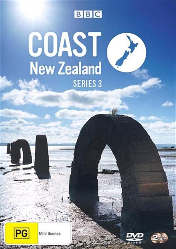 Coast New Zealand Season 3 on DVD