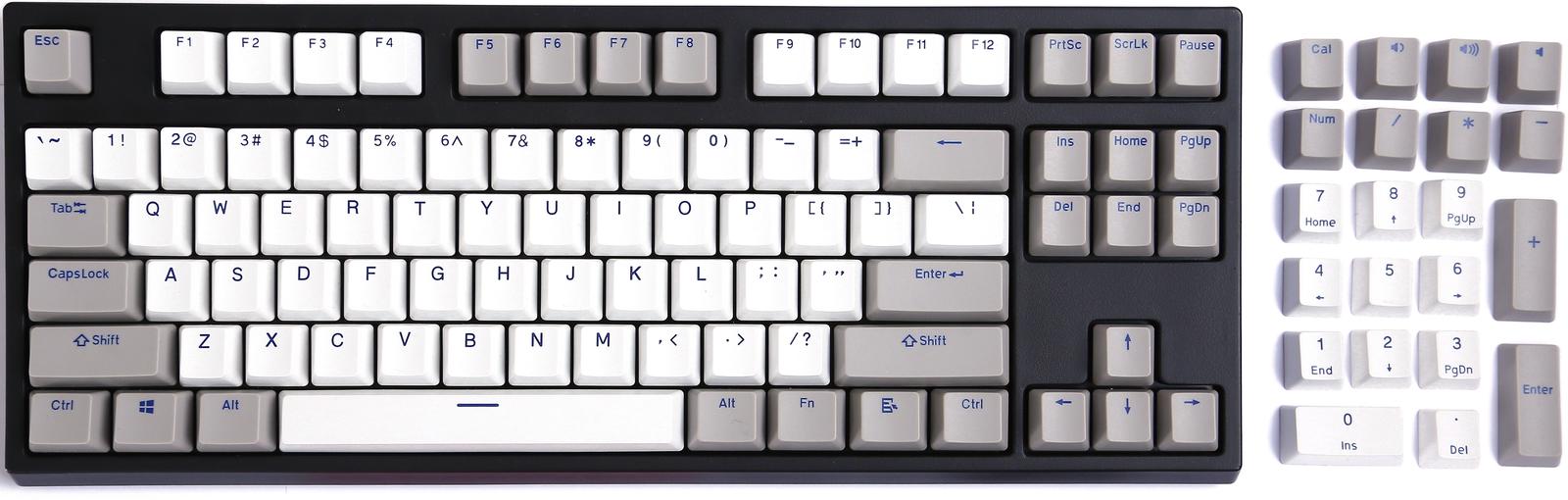 KBParadise Cherry Stem PBT Keycaps Olivette Neo image