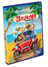 Stitch! The Movie on DVD