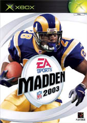 Madden 2003 for Xbox