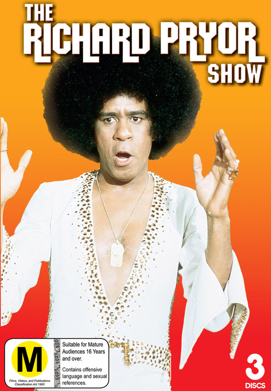 The Richard Pryor Show (3 Disc Set) on DVD