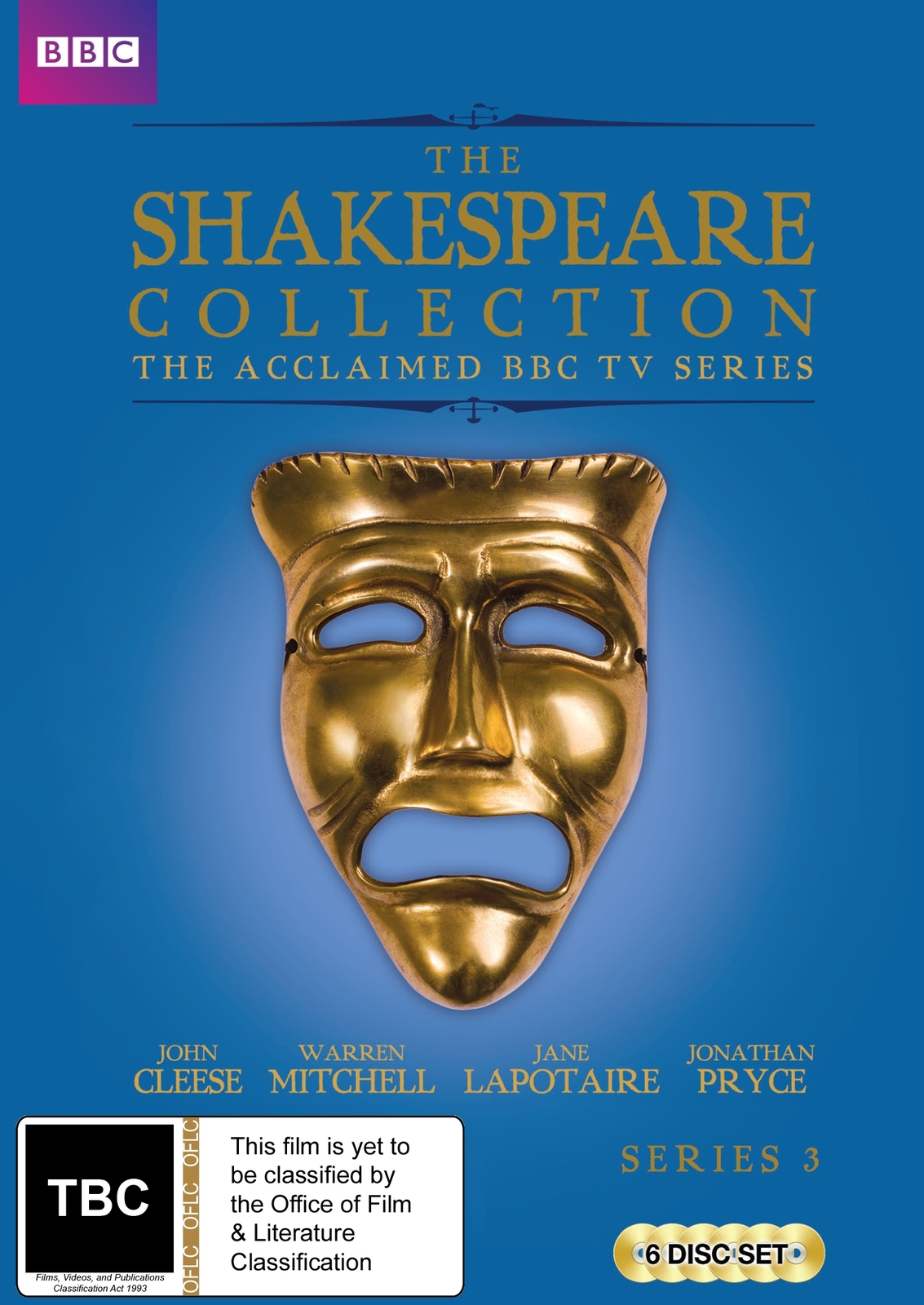 BBC The Shakespeare Collection - Series 3 on DVD image