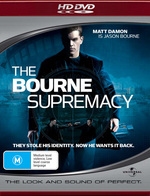The Bourne Supremacy on HD DVD